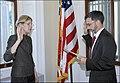 Elizabeth Warren being sworn in, 09-17-10 (5008208895).jpg