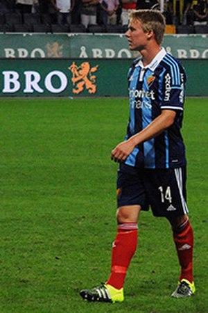 Elliot Käck - Käck playing for Djurgårdens IF