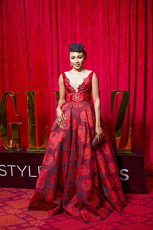 Syndy Emade - Syndy Emade at Glitz Style Awards in Ghana, August 2017