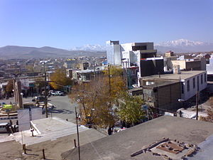 Aligudarz - Central Square of Aligudarz