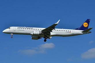 Lufthansa CityLine - Lufthansa CityLine Embraer 195