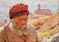 Emile Claus - Ampelio, old fisherman of Bordighera - Google Art Project.jpg