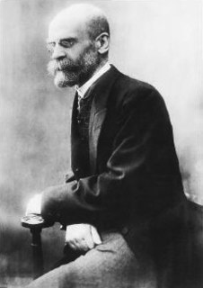 Émile Durkheim French sociologist (1858-1917)
