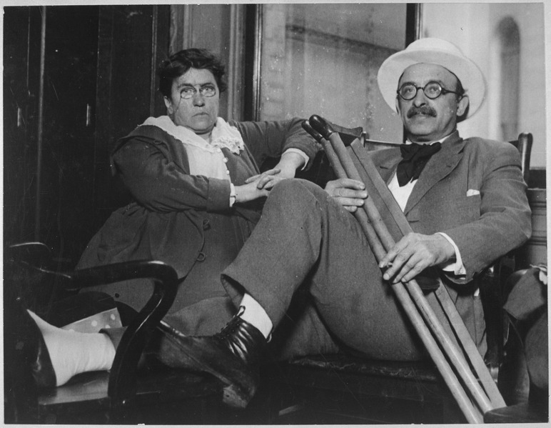 Emma Goldman and Alexander Berkman