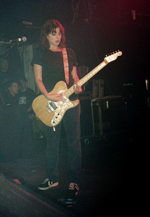 Emma Anderson - Anderson at the Markthalle, Hamburg in 1994
