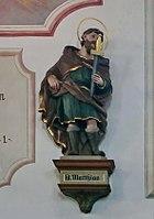 Emmering Kirche St Johann Baptist & Evangelist 065 Nordwand Matthias.jpg