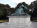 Empress Elisabeth of Austria, Döbrentei square, Budapest, Tabán, Hungary - panoramio (12).jpg