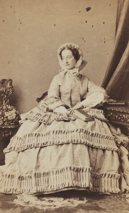 Empress Eugenie of the French, 1858 Empress Eugenie of the French.jpg