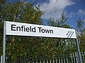 Enfield Town stn signage.JPG