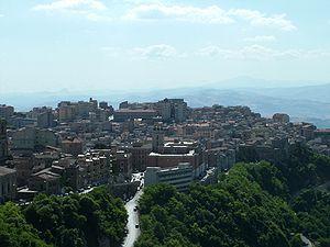 Scorcio del centro storico visto dalla Torre Pisana