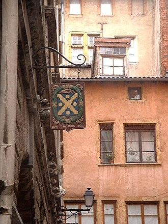 Saint-Paul (Lyon) - Image: Enseigne Rue Juiverie Lyon