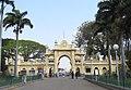 Entrance gate, the Mysuru Palace.jpg