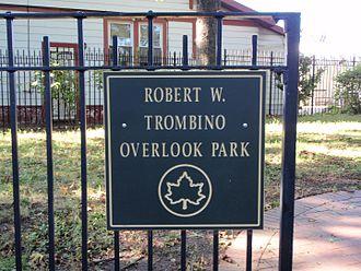 Elmhurst, Queens - Robert W. Trombino Overlook Park