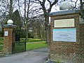 Entrance to West Herts Crematorium - geograph.org.uk - 1066782.jpg
