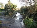 Entrance to the ford, College Lane, Ide - geograph.org.uk - 1081180.jpg