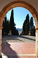 Ermita del santíssim Crist del Calvari de Gata de Gorgos, arc.JPG
