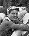 Ernest Fahmy being capped for Scotland.jpg