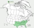 Eryngium integrifolium US-dist-map.png