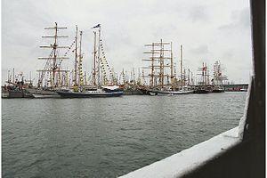Port of Esbjerg - Sailing ships in Esbjerg Harbour