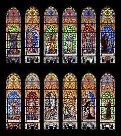 Església Santa Margalida - Santa Margalida - Mallorca - Stained glass windows.jpg