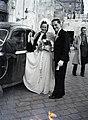 Esküvői fotó, 1946 Budapest.. Fortepan 105211.jpg
