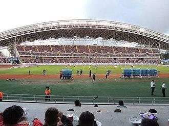 2014 FIFA U-17 Women's World Cup - Image: Estadio Nacional de Costa Rica durante la XV edición de los 90 minutos por la vida, 2015