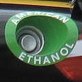 Ethanol Fuel Tank on Pizza Ranch Racing truck (6012159101).jpg