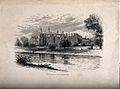 Eton College School from Romney Lock, Berkshire. Wood engrav Wellcome V0012638.jpg