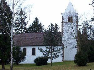 Bad Münster am Stein-Ebernburg - Ebernburg fortified Protestant church (Alte Johannes-Kirche)
