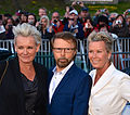 Eva Dahlgren, Björn Ulveus and Efva Attling, May 2013.jpg