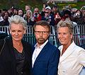 Eva Dahlgren, Björn Ulveus and Efva Attling, May 2013.jpg