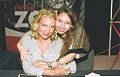Evelyn Janet Leal junto a Laurie Holden 2013-11-18 01-26.jpg