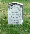 Eward Black's gravesite at Crown Hill Cemetery in Indianapolis, IN- 2013-10-16 02-06.jpg