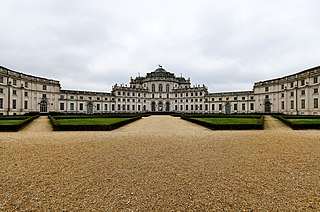 Palazzina di caccia of Stupinigi residence of the Royal House of Savoy