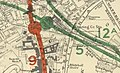 Extract from Report to the Minister of War Transport 21 January 1946 Map 3 - Charing Cross Area.jpg