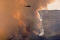 FEMA - 33309 - Helicopters drop fire retardant on the Harris fire in California.jpg