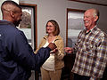 FEMA - 33720 - California residents receive keys for their FEMA provided mobile home.jpg