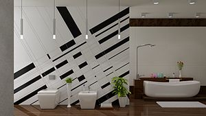 3D visualization of Bathroom created by FMD 3D...