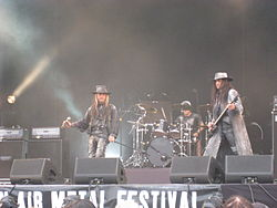 Fields of the Nephilim Tuska-festivaaleilla 2008