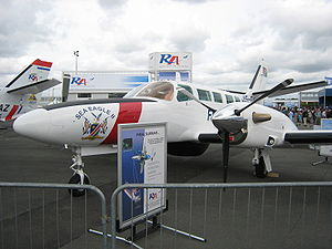 Reims-Cessna F406 Caravan II - A F406 Surmar of Namibian Ministry of Fisheries and Marine Resources at Paris Air Show in 2007