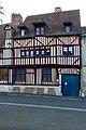 Façade de la maison au 38 boulevard Pasteur (Lisieux, Calvados, France).jpg