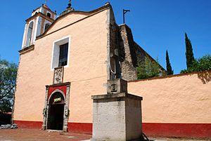Pueblo Mágico - Image: Facade Bautista Huasca