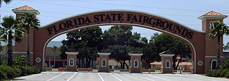 Florida State Fairgrounds - Main Entrance Archway