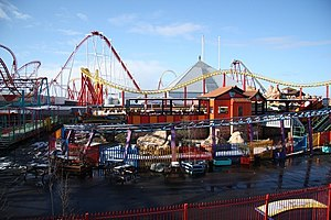 2004 Ingoldmells bus crash - Fantasy Island amusement park in Ingoldmells, close to the site of the accident