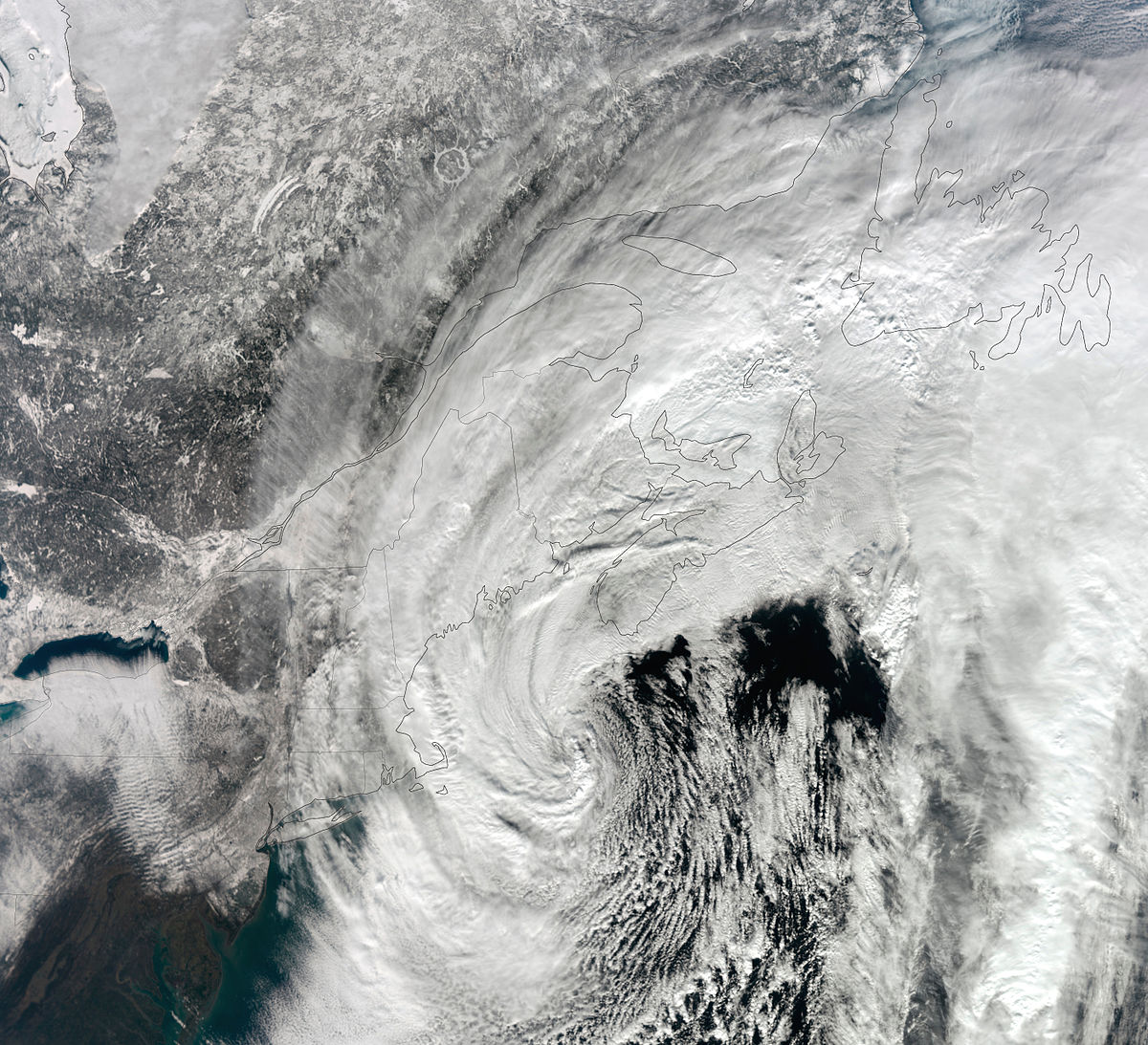 dates of noreaster 2017