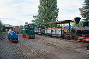 Feldbahn Rangierhof