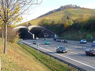Fellbach - Fellbach-Kappelbergtunnel-West