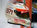 Fernando Alonso 2013 India helmet 2017 Museo Fernando Alonso.jpg