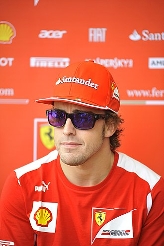 2012 Formula One World Championship - Fernando Alonso finished second in the World Drivers' Championship, three points behind Vettel.