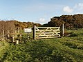 Field gate into Warbstow Bury - geograph.org.uk - 712303.jpg